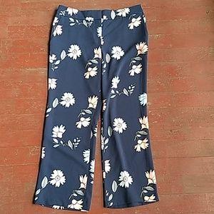 Loft floral print trousers